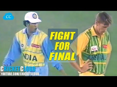 EPIC SEMI FINAL IND VS AUS TITAN CUP 1996 @MOHALI !!