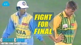 EPIC SEMI FINAL | Inḋia vs Australia in Mohali Titan Cup 1996 !!