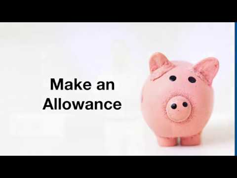 Make an Allowance  Part 1