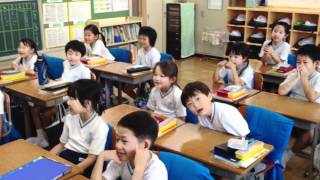 """Happy Birthday To You"" sung by A Japanese class!"
