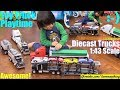 Hulyan and Maya's 1:43 Scale Diecast Semi-Hauler Truck Collection. Kids' Toy Trucks. TOYS
