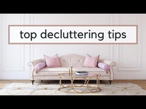 10 Decluttering Secrets | How to Declutter (featuring Ashlynne Eaton)