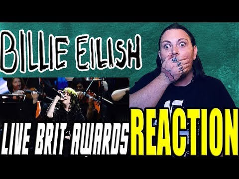 Billie Eilish - No Time To Die (Live From The BRIT Awards, London)   REACTION