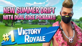 New Summer Drift Skin With Dual Edge!! 14 Elims!! - Fortnite: Battle Royale Gameplay