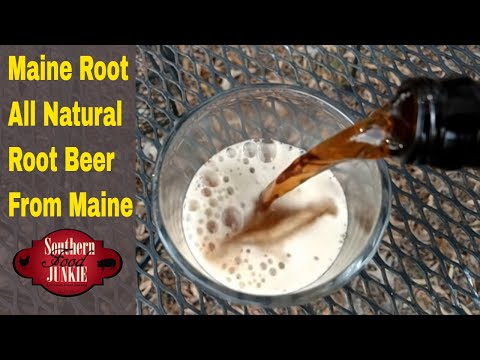 Maine Root All Natural Root Beer from Maine