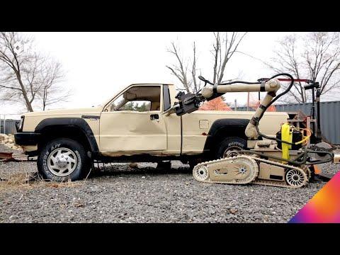 美空军招标重型机器人处理即製爆裂物 (视频/图)