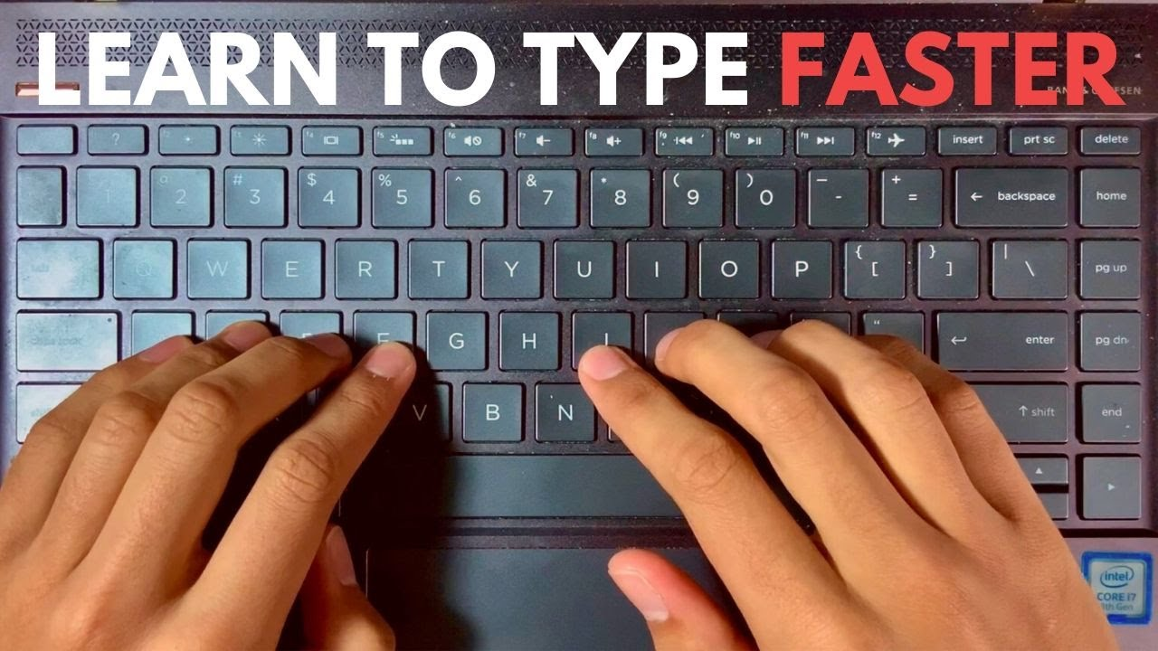 How I Learned to Type Faster (Touch Typing)