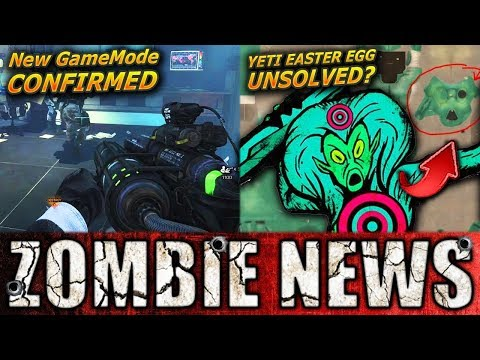 NEW Infinite Warfare Zombies Game Mode CONFIRMED!! Yeti Easter Egg Really SOLVED? Infinite Warfare