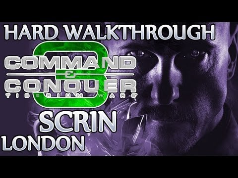 Ⓦ Command and Conquer 3: Tiberium Wars Walkthrough - Scrin Mission 1 ▪ London [Hard/Patch 1.09]