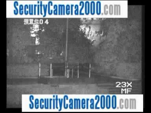 Night Vision Effect Of Sony CCD 540TVL 36X 150m IR Waterproof Dome Camera SecurityCamera2000