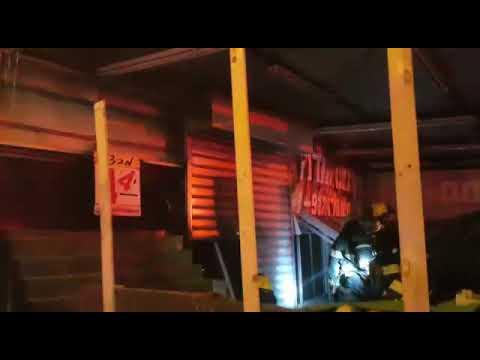 חנות ירקות נשרפה במחנה יהודה