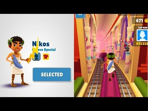 Subway Surfers  - Venice Nikos Gameplay Part 12 iOS Android