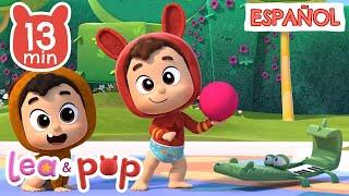 Aprende colores y animales con Pop - vídeos educativos de Lea y Pop