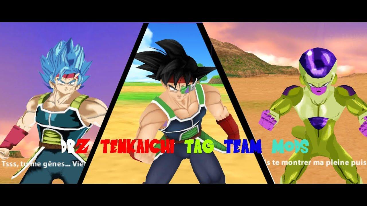 Dragon Ball Z Tenkaichi Tag Team Mods SSGSS Bardock VS ...