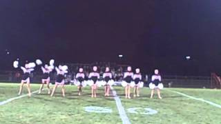 Almont Varsity Dance Team; Country Girl, October 2011