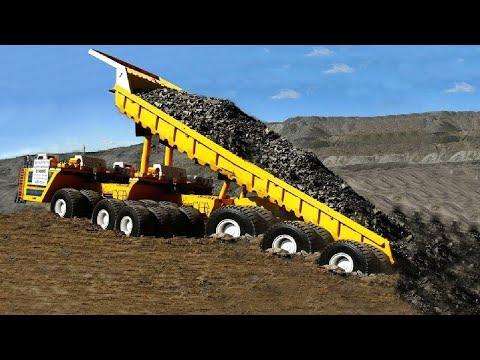 World Amazing Modern Dump Truck At New Level - Biggest Heavy Equipment Machines Working