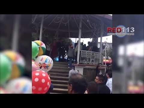 VIDEO Zafarrancho en Nahuatzen, Concejo Indígena agrede a simpatizantes de alcalde electo.