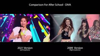 [🎧 RECOMMENDED] Comparison for After School - DIVA