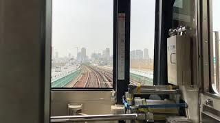 <大阪市の風景>20180417地下鉄御堂筋線「新大阪駅」から「中津」手前地上部分まで