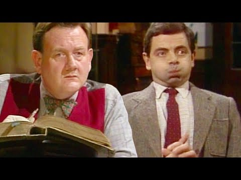 Library BEAN | RARE Episode | Mr Bean Official