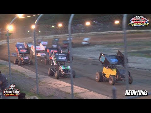 Highlights: Sprint Cars of New England at Legion Speedway 7-7-2017