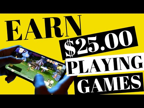 EARN $25 PER DAY Playing Games on Your Phone - Make Money Online