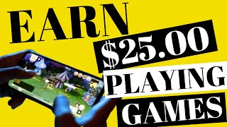 Earn $25 Per Day Playing Games On Your Phone   Make Money Online