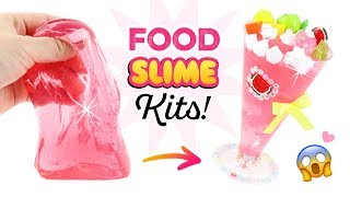 NEW SLIME TREND?!! DIY Food Inspired Kits and BIG Announcement! Satisfying ASMR Crafts