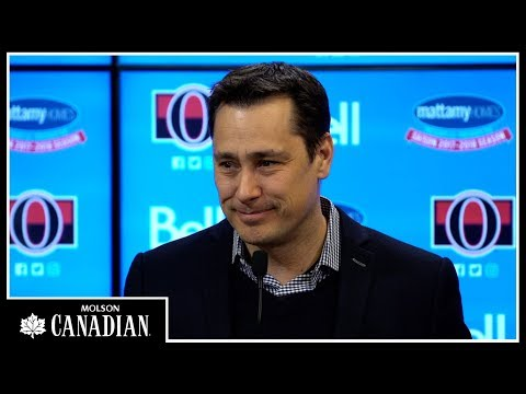 Jan 9: Sens vs. Blackhawks - Coach Pregame Media