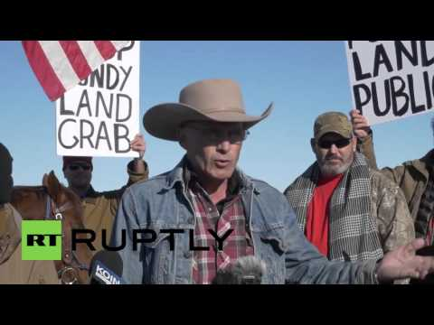 'We will not back down!' Oregon militiaman defends Native American land rights