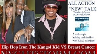 YG Nyghtstorm - Hip Hop Icon The Kangol Kid VS Breast Cancer