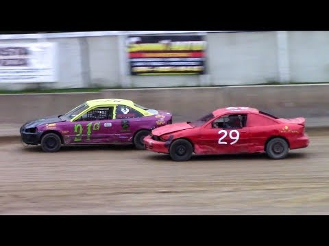 Mini Stock Heat Three | Old Bradford Speedway | 9-8-18