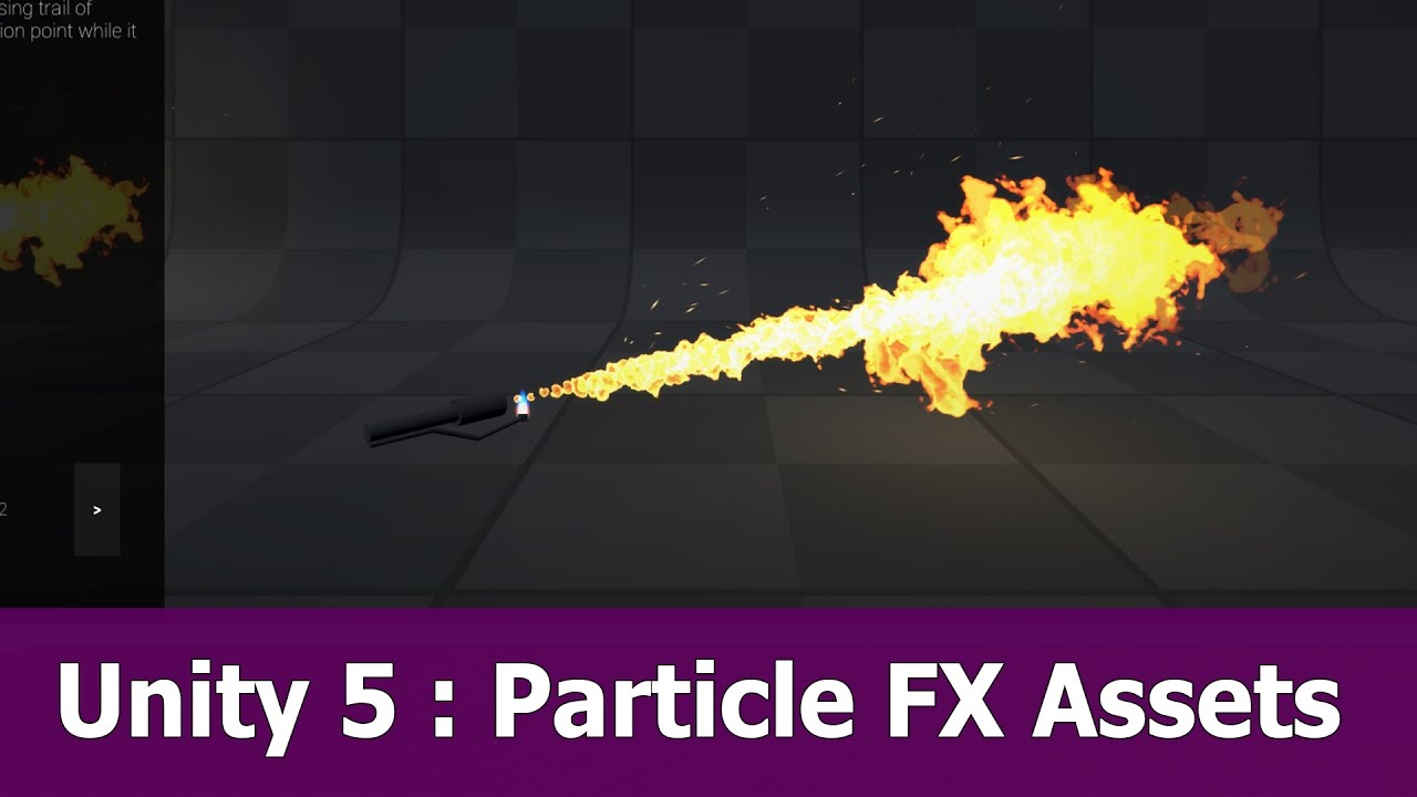 Unity 5 5 Particle Effects Package