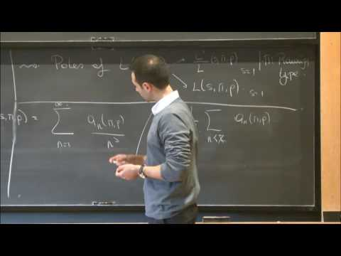 Geometric side of the trace formula and related problems - Ali Altuğ