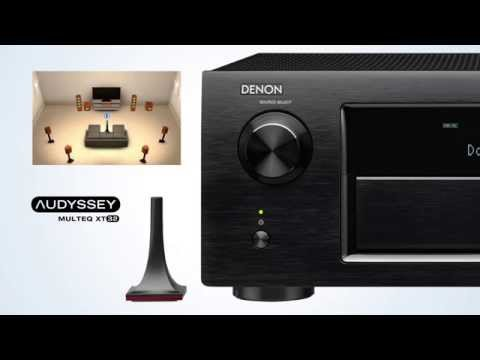 DENON | The AVR-X6200W Network AV Receiver - Blockbusting 3D Sound