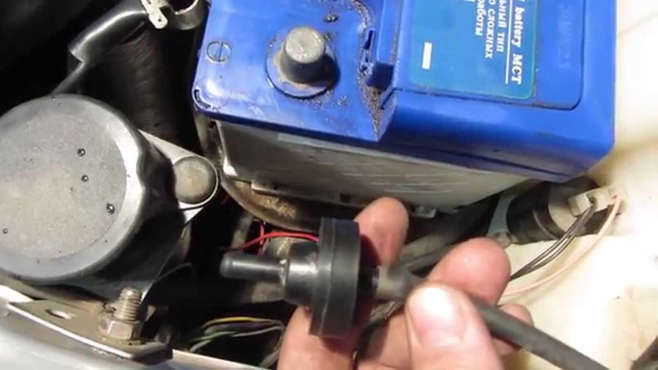Доработка омывателя стекол при помощи обратного клапана