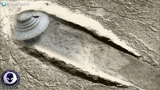 600ft UFO Crash Site Discovered On Mars! 11/23/16