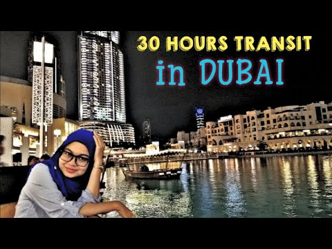 30 HOURS TRANSIT IN DUBAI | Couple Travel Vlog 2019