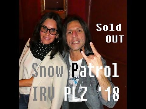 Snow Patrol - Just Say Yes @ Irving Plaza on 04.18.18 Rock n Roll Reality King Hits