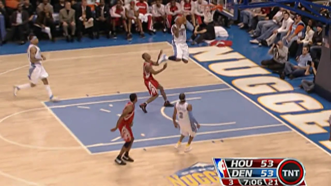 Download BEST Plays of Allen Iverson and Carmelo Anthony as Denver Nuggets Teammates!