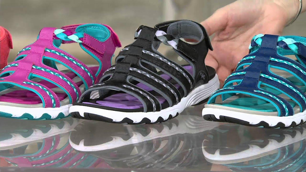 Ryka sandals shoes - Ryka Braided Fisherman Sandals Damsel On Qvc