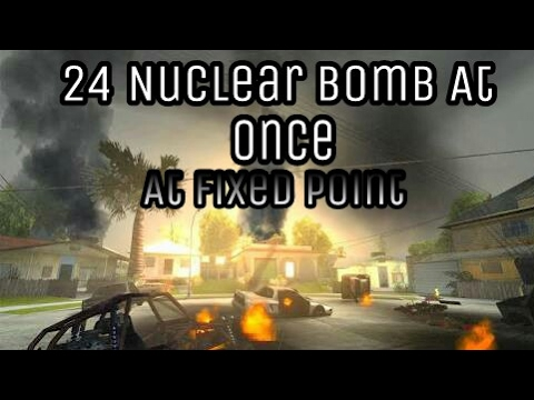 How to install 24 atomic bomb at once in gta sa android without pc.