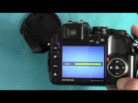Olympus SP-570UZ Super-Zoom Camera