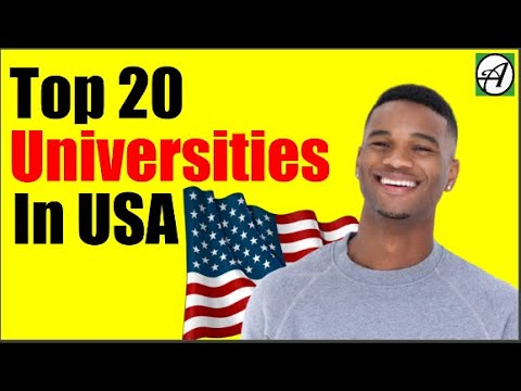 Top 20 Universities In USA For International Students In 2020