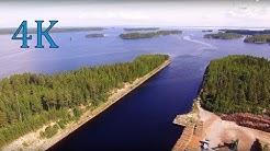 4K Finland Savonranta  Vihtakannan kanava