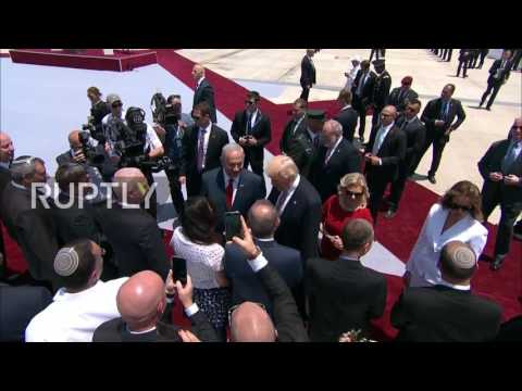 Thumbnail: Israel: One handshake too many for Melania? First Lady swats away Trump's hand