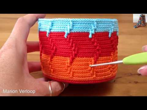 Mochila Combined With Apache Tears Stitch Youtube