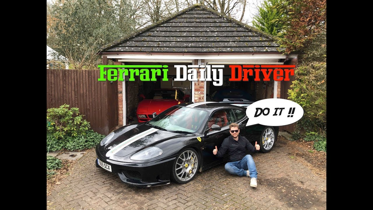 Heres How You Can Daily Drive A Ferrari Supercar Youtube