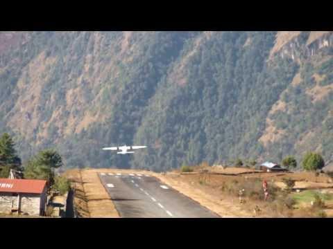 World most Extreme Airport Tenzing Hillary Airport Lukla-Nepal