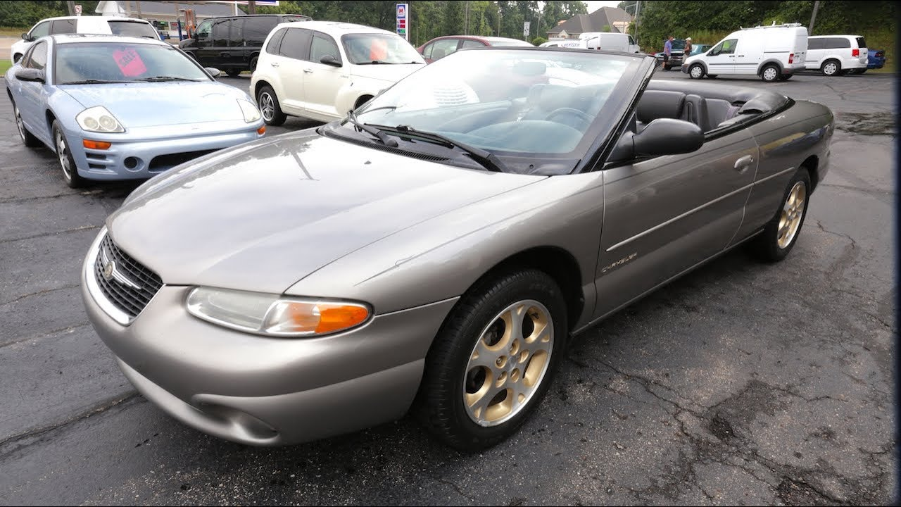 Sold 1999 Chrysler Sebring Convertible